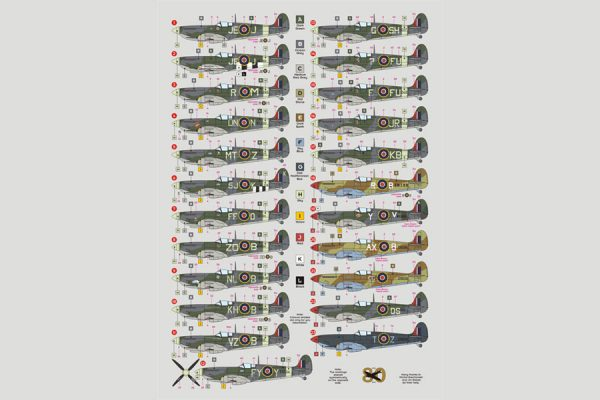 Spitifre Mk IX Aces