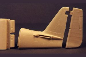 Ultracast P-51D Mustang - early filletless tail