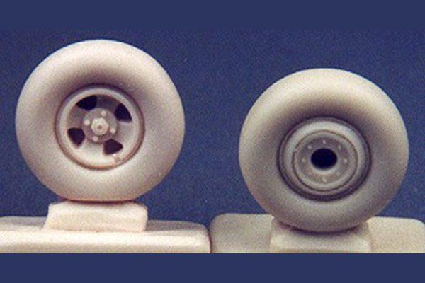 Ultracast Supermarine Spitfire 4-spoke Wheels