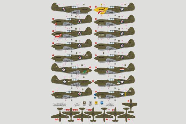 P-40E Warhawk, Philippines, Java, Australia