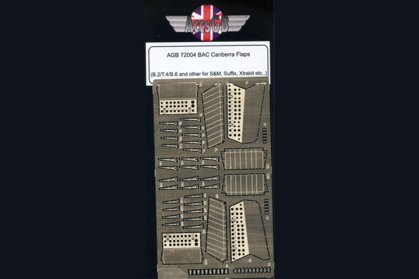 AGB BAC/EE Canberra B.2/T.4 Flaps - 1/72