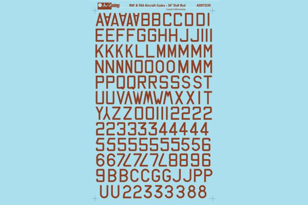FAA Aircraft Code Letters 36