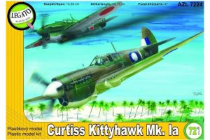 AZ Curtiss Kittyhawk Mk.Ia - 1/72 Scale