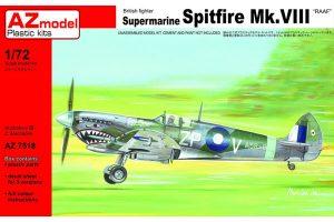 AZ RAAF Spitfire MK VIII