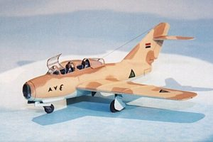 Mig-15UTI (injection, decals) - 1/144