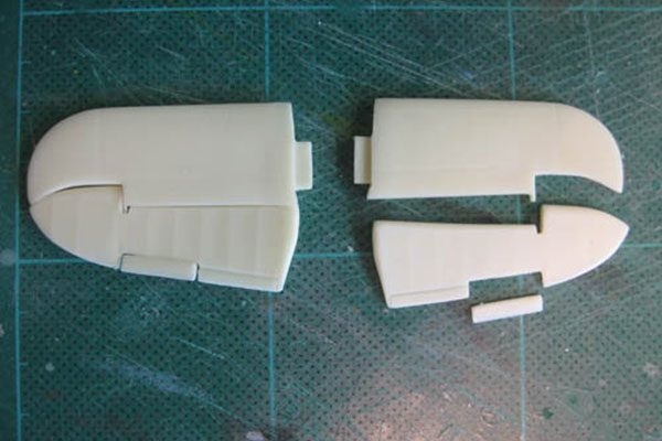 Red Roo Beaufighter Flat Tailplane - 1/48