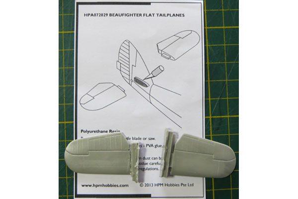 HPM Beaufighter Flat Tailplanes