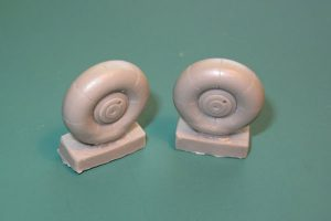Red Roo Beaufighter Main Wheels - 1/48