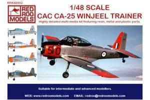 Red Roo CAC CA-25 Winjeel Trainer