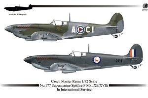 CMR Spitfire Mk.IXE/Mk.XVIE in International Service