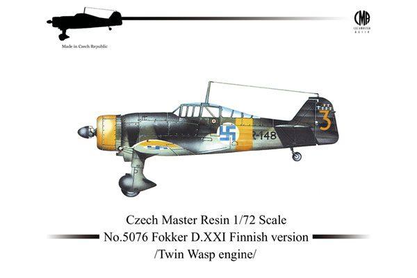 CMR Fokker D.XXI Finnish P&W