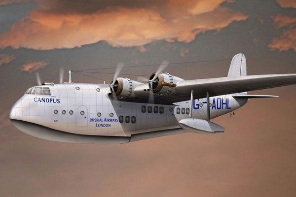 CMR Short S-23 C Class Empire Flying Boat