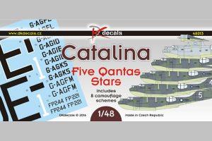 DK Decals Catalina - Five Qantas Stars