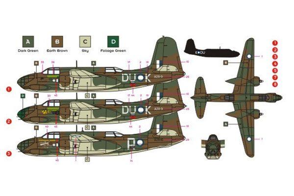 DK Decals DB-7B/A-20 Boston in RAAF Service - 1/72