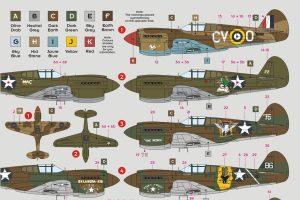 P-40E Warhawk Kittyhawk Mk I