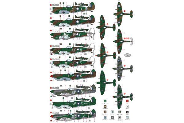 Spifire Mk Vc/ Mk VIII in RAAF Service
