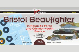 DK Decals Bristol Beaufighter in RAF & Commonwealth Service