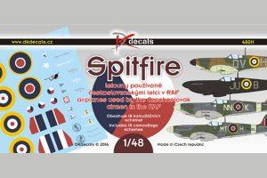 DK Decals Spitfire - Czech Pilots in RAF