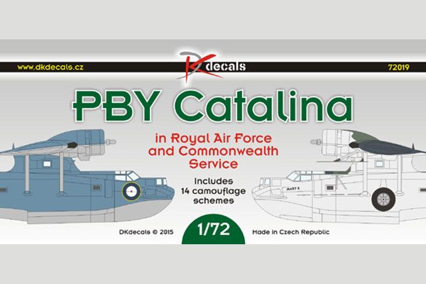 DK Decals PBY Catalina RAF and Commonwealth