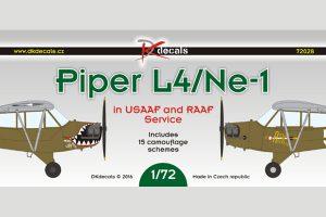 DK Decals Piper L4/NE-1