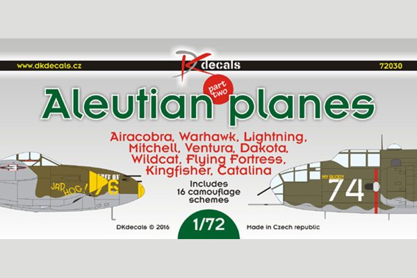 Aleutian Planes Pt 2 - 1/72