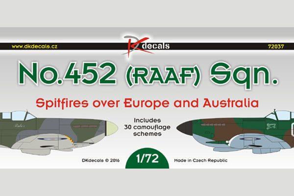 452 RAAF Sqn Europe & Australia - 1/72 scale