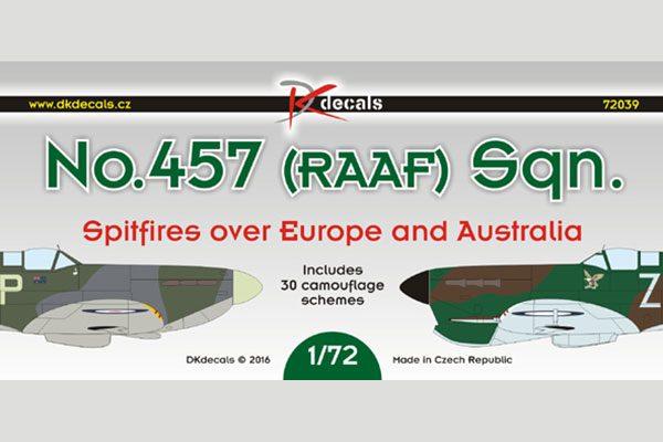 No. 457 Sqn RAAF - 1/72 scale