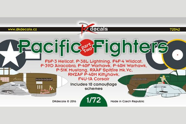DK Decals Pacific Fighters - Pt 2