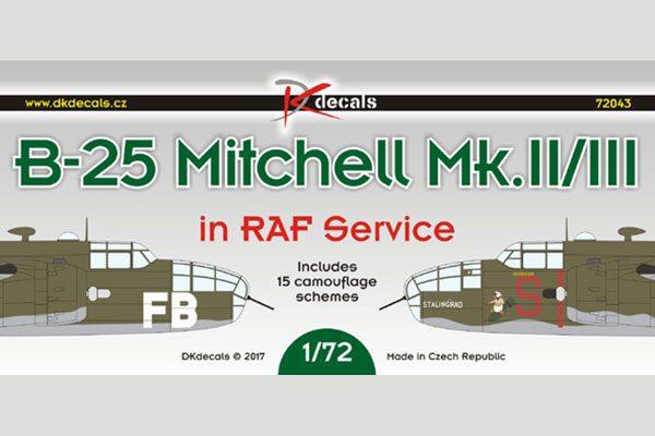B-25 Mitchell Mk.II/III in RAF Service
