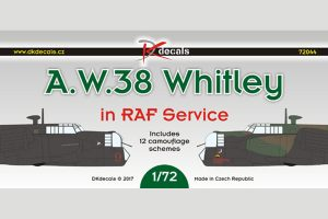 A.W. 38 Whitley in RAF Service