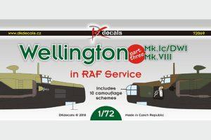 Wellington Mk.Ic/DWI Mk.VIII in RAF Service - 1/72