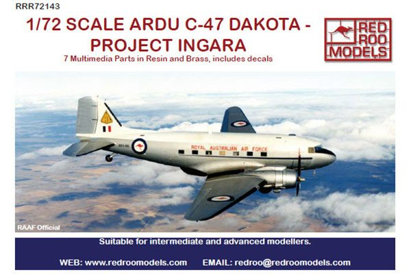 Red Roo ARDU C-47 Dakota - Project Ingara - 1/72