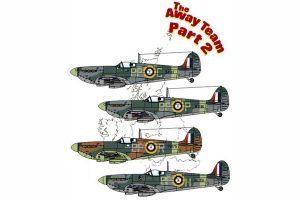 Red Roo Away Team Pt 2 - 457 Sqn RAAF UK 1941-42 - 1/48