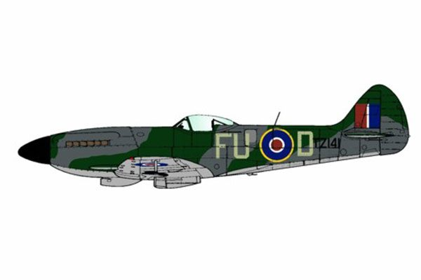 Red Roo Spitfire Mk XIVe, 453 Sqn, late-war - 1/48