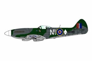 Red Roo Spitfire Mk XIVe, Falconer, 451 Sqn, 1946 - 1/48