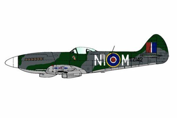 Red Roo Spitfire Mk XIVe, 451 Sqn RAAF, 1945 - 1/48
