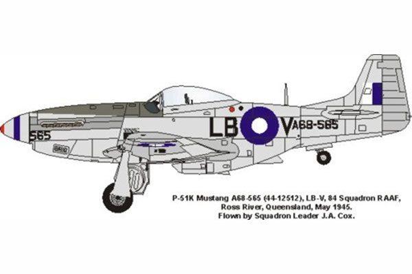 Red Roo P-51K, Cox, 84 Sqn RAAF, 1945 - 1/48
