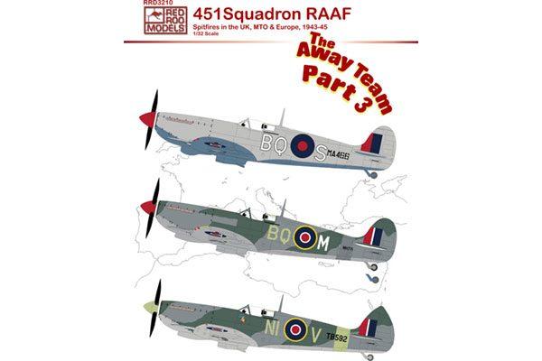 Red Roo 1/32 Scale 451 Sqn RAAF - Spitfires 1943-45