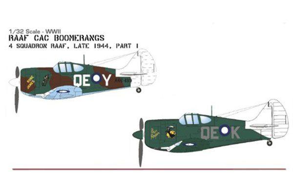 Red Roo RAAF Boomerangs Pt 1 - 1/32