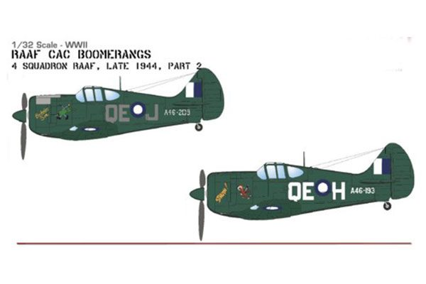 Red Roo RAAF Boomerangs Pt 2 - 1/32