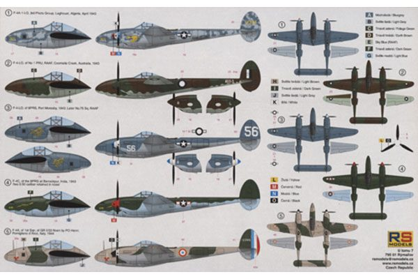 RS Models F-4 Lightning-1/72