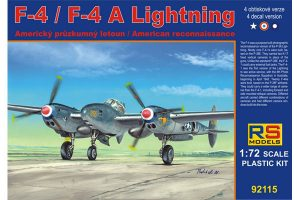 RS Models F-4 Lightning-1/72