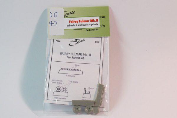 Fairey Fulmar Wheels 1/72