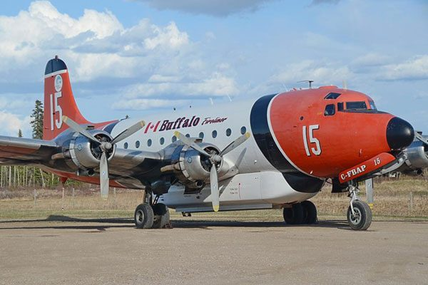 Red Roo Douglas DC-4G/DC-6C Firebomber Conversion