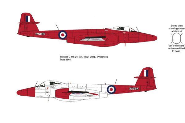 Gloster Meteor U Mk16/21 Conversion