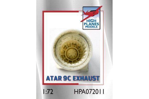 HPM Mirage IIIE/O Atar 9C Exhaust Pipe