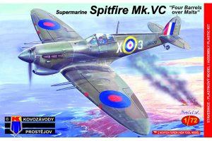 Spitfire Mk. Vc - Four Barrels Over Malta