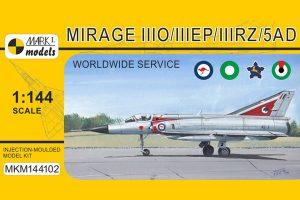 Mirage IIIO/IIIEP/IIIRZ/5AD