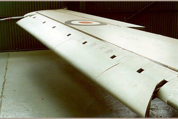 Red Roo Early Sabre Narrow Chord Wing with Slats - 1/48 scale