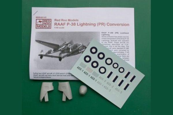 RAAF P-38 Lightning (PR) Conversion